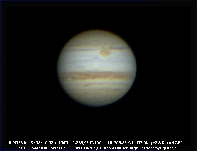Jupiter le 19/08/2010 Crbst_J20100819_021156TU_Rmo0